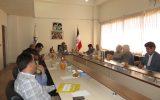 بازدیدوبرگزاری جلسه شورای آموزشی دانشگاه یاسوج در دانشکده صنعت و معدن چرام+تصاویر