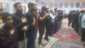 برگزاری مراسم شب اربعین حسینی درمصلی حضرت ابوطالب(ع)چرام+تصاویر