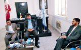 نشست صمیمی رئیس دادگستری شهرستان چرام بارئیس اداره فرهنگ وارشاداسلامی و اصحاب رسانه به مناسبت هفته قوه قضائیه+تصاویر