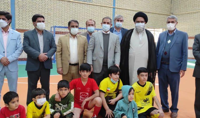 افتتاح سالن ورزشی شهدای سرآبتاوه