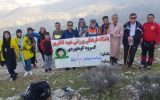 فتح قله میلک آرند توسط باشگاه کوهنوردی شهیدکاظم پور چرام +تصاویر