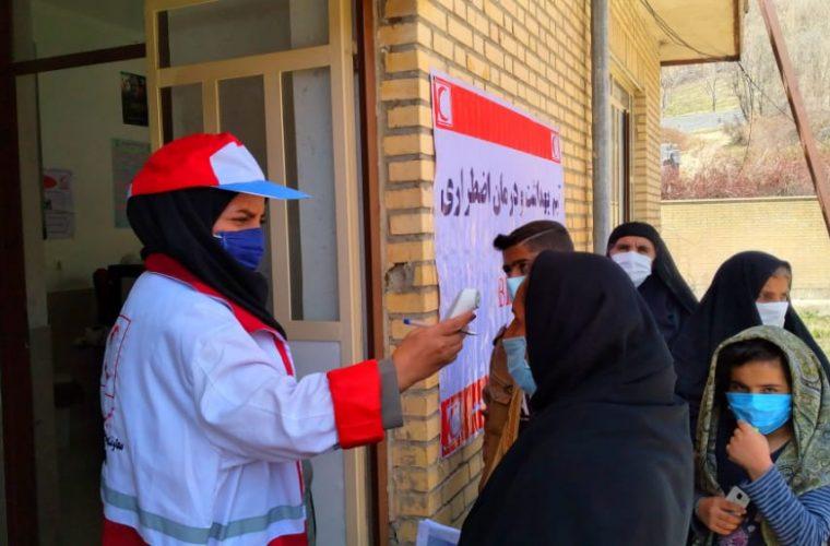 اجرای طرح خدمات بهداشت ودرمان اضطرارتوسط تیم های بهداشت ودرمان اضطرار هلال احمر استان